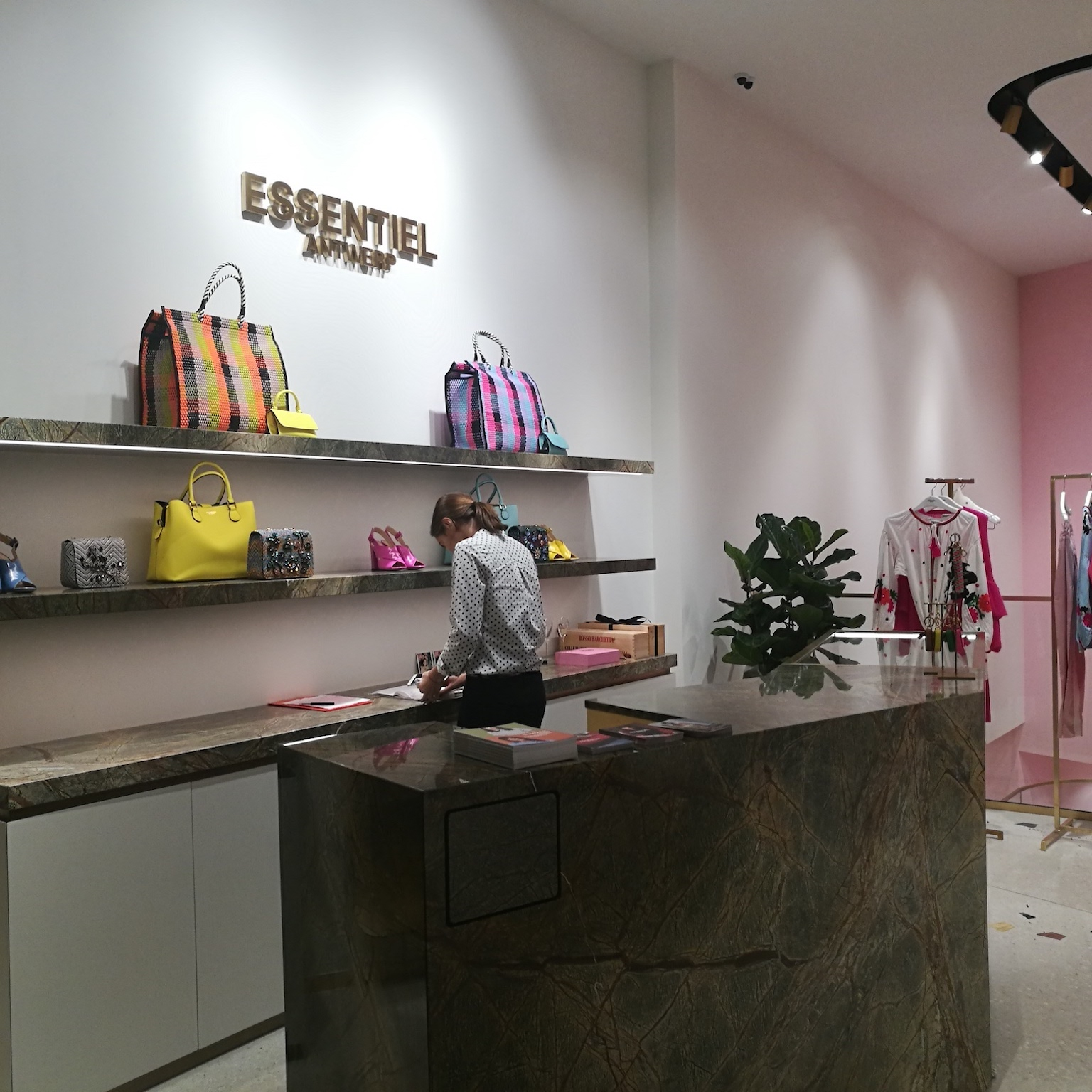 Essentiel opens huge women's shop in Antwerp