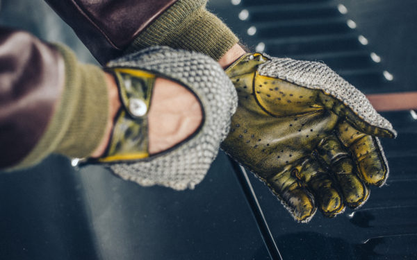 Christophe Fenwick: driving gloves and shoes with a story