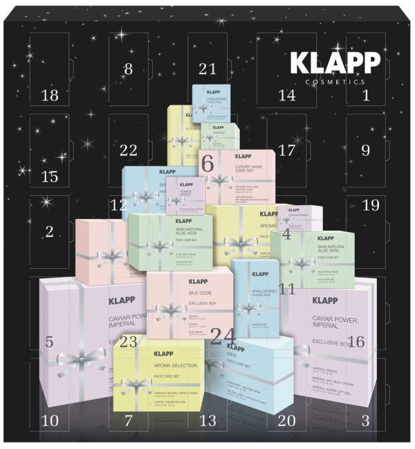 Klapp Advent Calendar : being beautiful at Xmas time