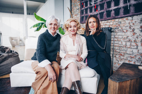 Leah Thys, Gilda De Bal and Viktor Lazlo about ageing beautifully