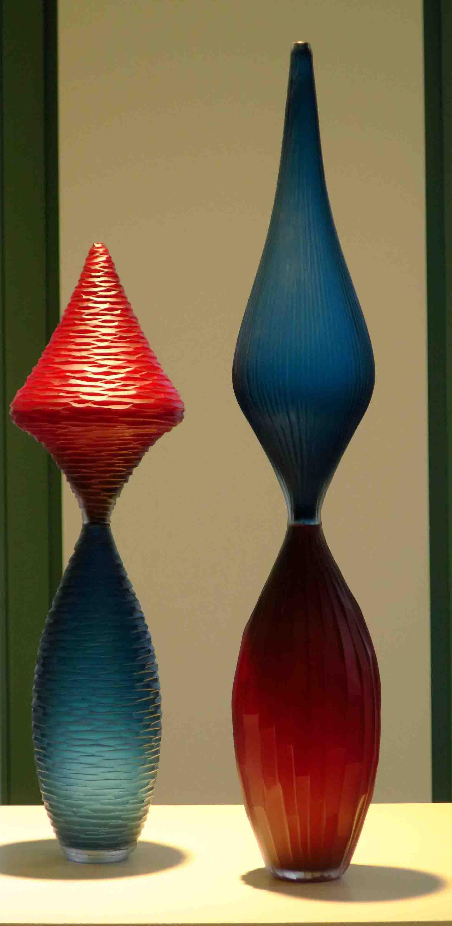 Exquisite glass art in Hasselt: Monica Guggisberg and Philip Baldwin have an exhibition in Schiepers Gallery