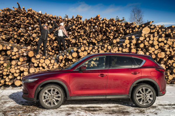 Mazda CX-5 : epic drive to the Arctic Circle