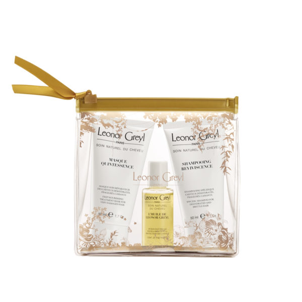 Leonor Greyl Luxury Travel Kits make you feel like Madonna