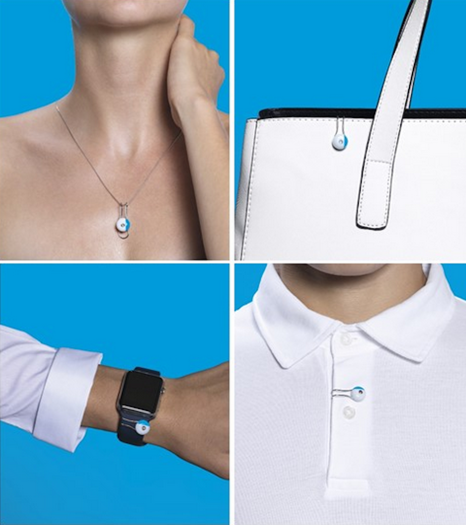 My Skin Track UV first wearable skin sensor for safe exposure to the sun
